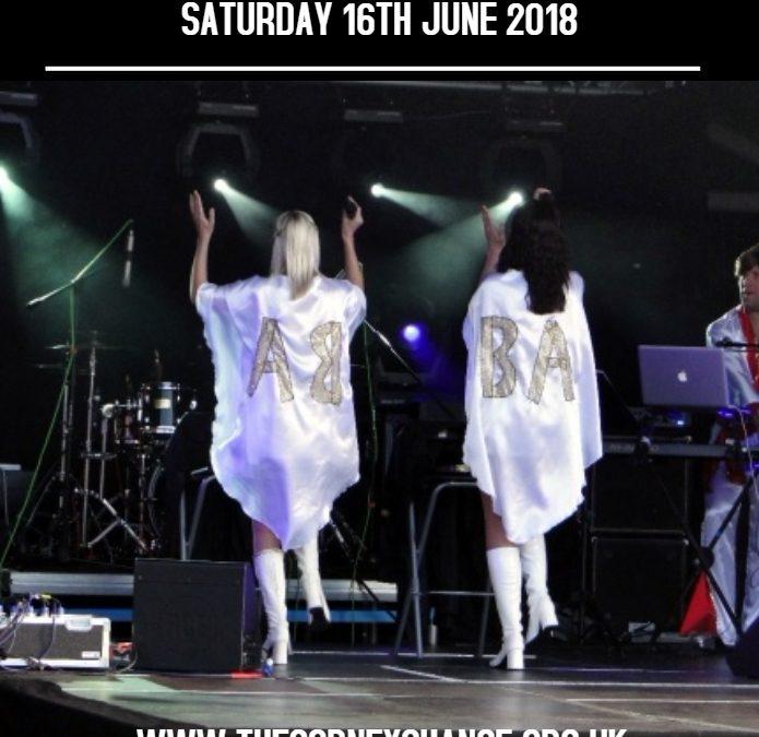 ABA QUEENS ABBA Tribute Show – Saturday 16th June 2018